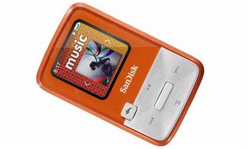 MP3 ಪ್ಲೇಯರಿಗೆ ಸನ್ಸಾ ಕ್ಲಿಪ್ ಜಿಪ್