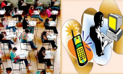 ಮೊಬೈಲಿನಲ್ಲಿ SMS ಓಕೆ. ಆದ್ರೆ ಪರೀಕ್ಷೆಯಲ್ಲಿ ಯಾಕೆ?
