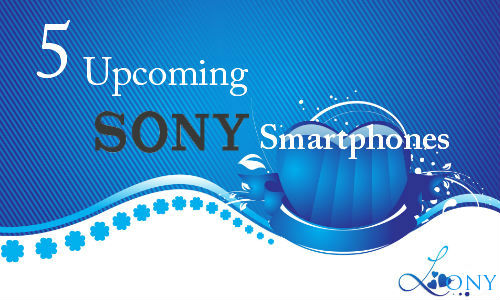 5 sony xperia android smart phones