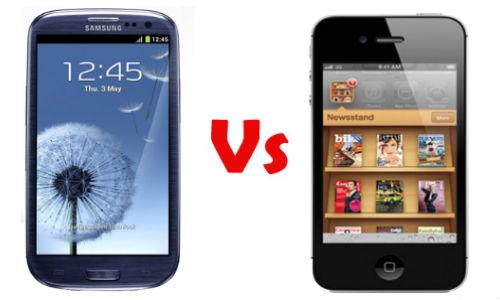Drag ಟೆಸ್ಟ್ ನಲ್ಲಿ ಐಫೋನ್ 4S vs ಗ್ಯಾಲಕ್ಸಿ S3