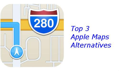 ಆಪಲ್ನ iOS 6 ಮ್ಯಾಪ್ ಬದಲಾಗಿ ಟಾಪ್ 3 ಮ್ಯಾಪ್ಆಪ್ಸ್