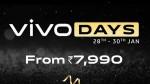 ಅಮೆಜಾನ್ ವಿವೋ ಡೇಸ್ ಸೇಲ್ 2021: ವಿವೋ ಸ್ಮಾರ್ಟ್ಫೋನ್ಗಳಿಗೆ ವಿಶೇಷ ರಿಯಾಯಿತಿ!