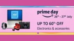 Amazon Prime Day Sale:ಎಲೆಕ್ಟ್ರಾನಿಕ್ಸ್ ಪ್ರಾಡಕ್ಟ್ಗಳಿಗೆ 60% ರಿಯಾಯಿತಿ!