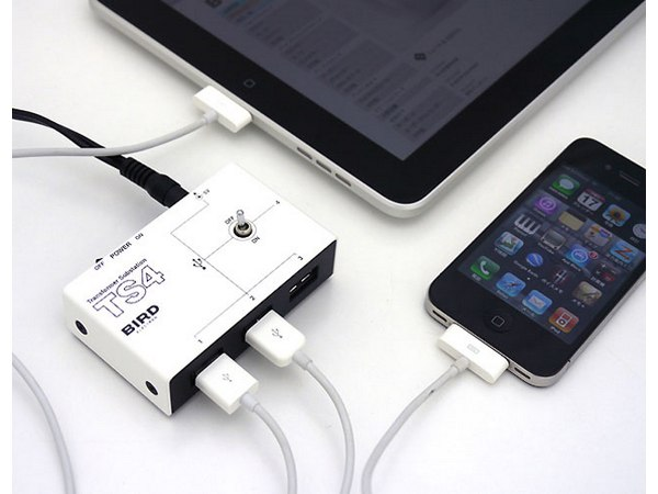 High Power Charger for iPad/iPhone/iPod