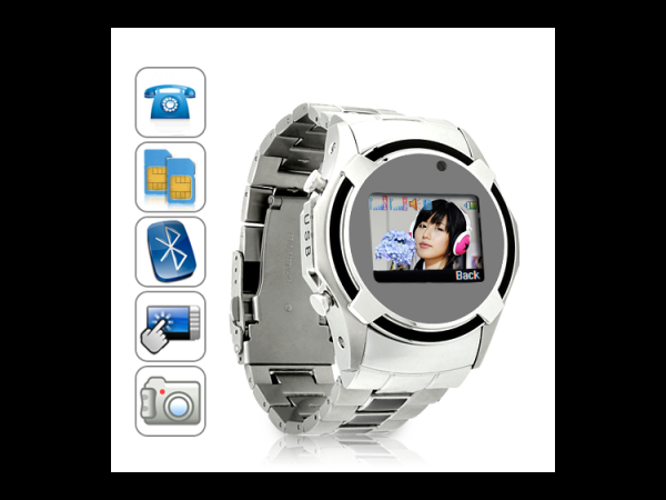 Dual SIM Cell Phone Watch