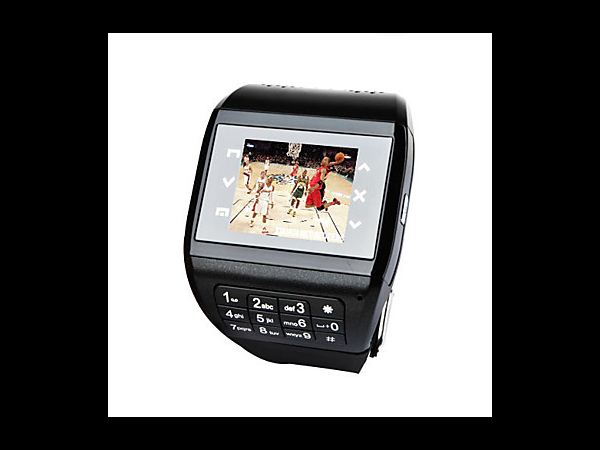 Dual SIM Touchscreen Cell Phone Watch