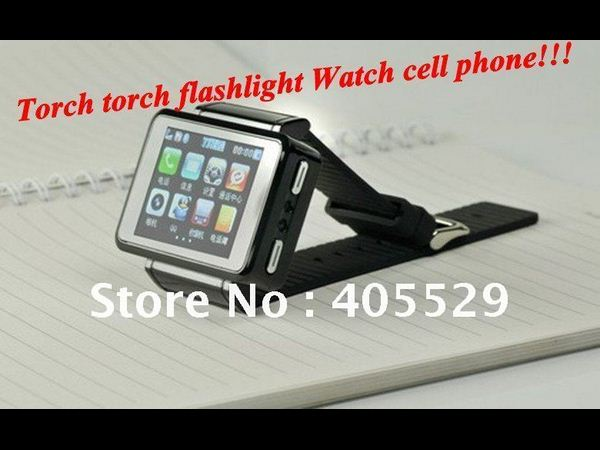 Torch watch cell phone