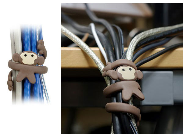 ThinkGeek – Monkey Cable Organizer