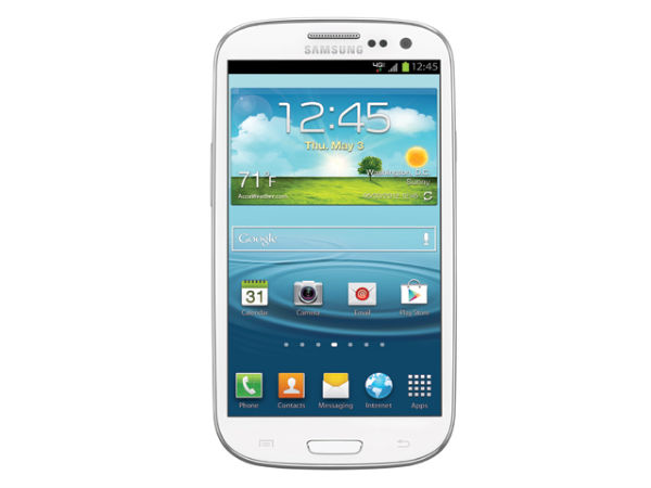 Samsung Galaxy S III (July 2012)