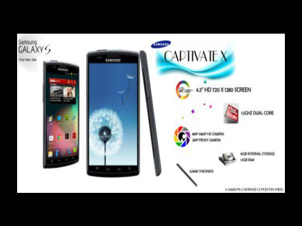 Samsung Captivate X