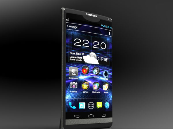 Samsung Smartphone Concept Has Some Xperia and HTC One