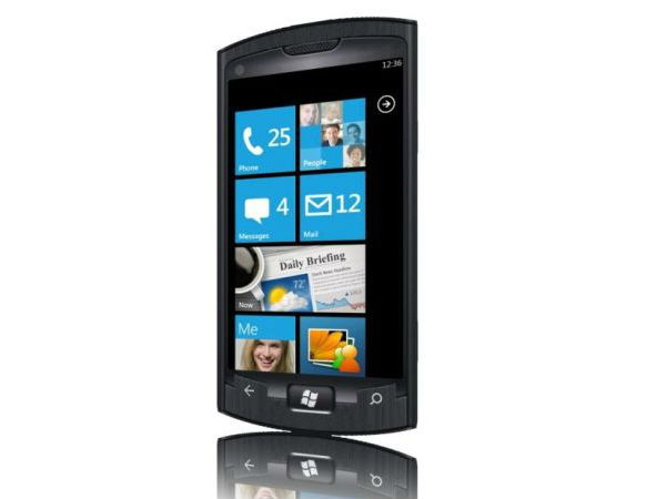 Samsung Eagle 7, WP7 Handset Design