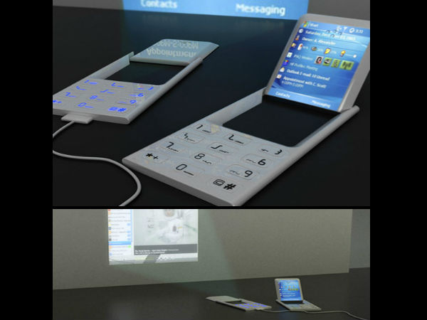 Projector Cell Phone