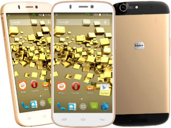 Micromax Canvas Gold A300