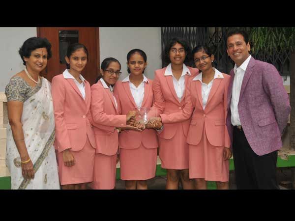 ಒಣಕಸ ಅಪ್ಲಿಕೇಶನ್: ಬೆಂಗಳೂರಿನ 5 ವಿದ್ಯಾರ್ಥಿನಿಯರ ಸಾಧನೆ