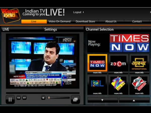Indian TV Live