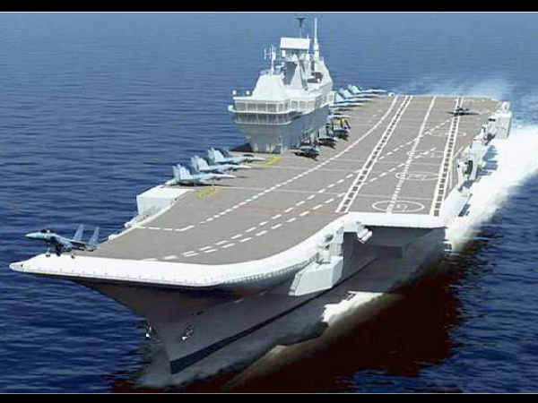 (INS Vikramaditya-Floating airfield and Mini city)