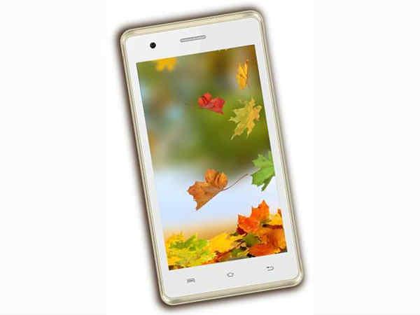ಇಂಟೆಕ್ಸ್ 'ಆಕ್ವಾ 4.5 3G' ಸ್ಮಾರ್ಟ್ಫೋನ್ ರೂ.3,349 ಕ್ಕೆ ಲಾಂಚ್