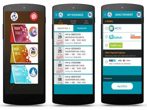 ಲಾಂಚ್ ಆಯ್ತ ಹೊಸ IRCTC ಬುಕಿಂಗ್ ಆಪ್: ರೈಲು ಪ್ರಯಾಣ ಇನಷ್ಟು ಸುಲಭ