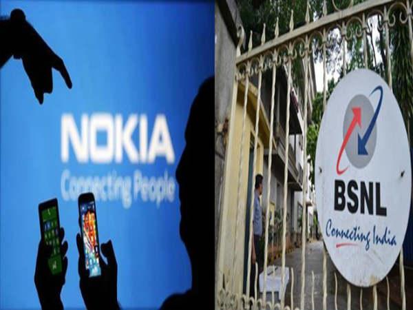 ಭಾರತದಲ್ಲಿ 5G ನೆಟ್ವರ್ಕ್ ಅಭಿವೃದ್ಧಿಪಡಿಸಲು ಜೊತೆಯಾದ ನೋಕಿಯಾ-ಬಿಎಸ್ಎನ್ಎಲ್