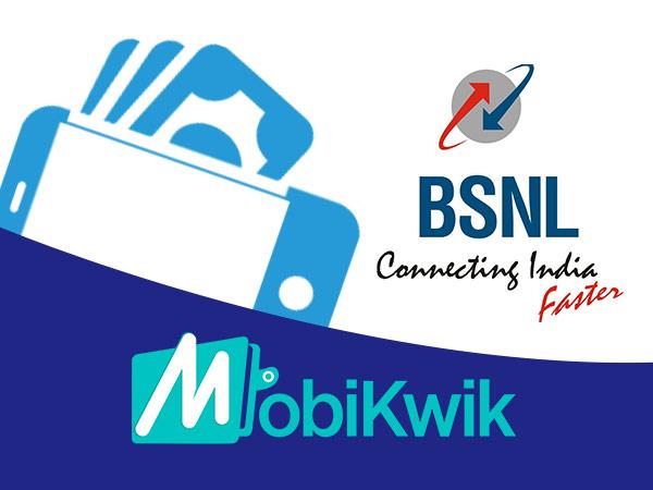 ಮೊಬಿಕ್ವಿಕ್ ಜೊತೆ ಕೈಜೋಡಿಸಿ ಮೊಬೈಲ್ ವಾಲೆಟ್ ಲಾಂಚ್ ಮಾಡಿದ BSNL