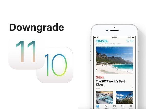 ಐಫೋನ್ ಅನ್ನು iOS 11 ನಿಂದ iOS 10ಗೆ ಡೌನ್ ಗ್ರೇಡ್ ಮಾಡುವುದು ಹೇಗೆ..?