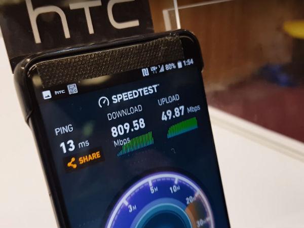 ವಿಶ್ವದ ಮೊದಲ 5G ಸ್ಮಾರ್ಟ್ಫೋನ್: ಬೆಚ್ಚಿ ಬಿಳಿಸುವ ಡೌನ್ಲೋಡ್ ಸ್ಪೀಡ್..!
