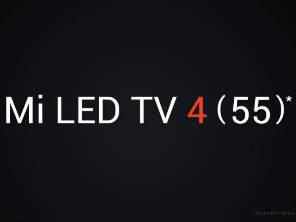 ಎರಡನೇ ಸೇಲ್ ನಲ್ಲಿಯೂ ಸೋಲ್ಡ್ ಔಟ್: ಮೂರನೇ ಸೇಲ್ ಗೆ Mi TV 4 ರೆಡಿ..!