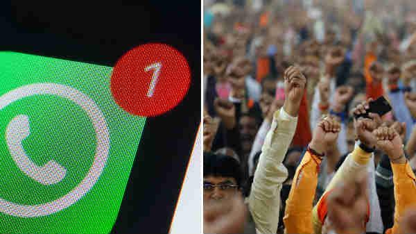 ಭಾರತೀಯ ರಾಜಕೀಯ ಪಕ್ಷಗಳಿಗೆ ಎಚ್ಚರಿಗೆ ಕೊಟ್ಟ 'ವಾಟ್ಸಪ್'.!!