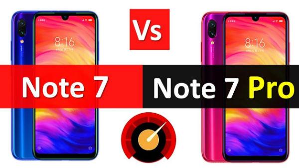 ರೆಡ್ಮಿ ನೋಟ್ 7 VS ರೆಡ್ಮಿ ನೋಟ್ 7 ಪ್ರೊ: ಏನು ವ್ಯತ್ಯಾಸ?..ಯಾವುದು ಬೆಸ್ಟ್?
