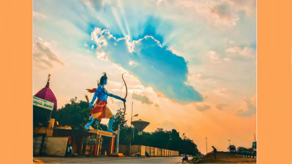 ಐಫೋನ್ ಫೋಟೋಗ್ರಫಿ ಸ್ಪರ್ಧೆ: ಕೋಲಾರದಲ್ಲಿ ಬಿಲ್ಲು ಹಿಡಿದ ಶ್ರೀರಾಮನ ಚಿತ್ರ ಫಸ್ಟ್!