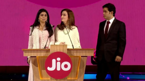 ''ಜಿಯೋ ಪ್ರಾರಂಭಿಸಲು ಇದೇ ಕಾರಣವಾಗಿತ್ತು'': ಇಶಾ ಅಂಬಾನಿ!
