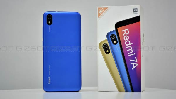 Redmi 7A (Discount Price: Rs Rs 5,999)