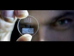 360TB ಡೇಟಾ ಸಂಗ್ರಹಿಸುತ್ತದೆ ಸಣ್ಣ ಗಾಜಿನ ಡಿಸ್ಕ್