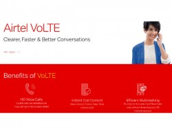 ಶುರುವಾಯಿತು ಏರ್ಟೆಲ್ VoLTE ಸೇವೆ: ಎಲ್ಲಿ?