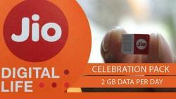 ಜಿಯೋ ಸೆಲೆಬ್ರೆಷನ್ ಪ್ಯಾಕ್; ಪ್ರತಿ ದಿನ 2GB ಉಚಿತ ಡೇಟಾ.!!
