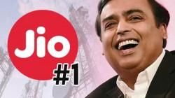 ಭಾರತದ ನಂ.1 ಟೆಲಿಕಾಂ ಕಂಪೆನಿಯಾಗಿ ಹೊರಹೊಮ್ಮಿದ 'ಜಿಯೋ'!