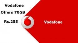 ವೊಡಾಫೋನ್ ಆಫರ್ : 255ರೂ ಪ್ಲ್ಯಾನ್ನಲ್ಲಿ 70GB 4G ಡೇಟಾ ಉಚಿತ!