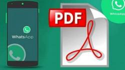 ವಾಟ್ಸಪ್ ಚಾಟ್ ಅನ್ನು PDF ಫಾರ್ಮೇಟ್ಗೆ ಕನ್ವರ್ಟ್ ಮಾಡುವುದು ಹೇಗೆ ಗೊತ್ತಾ?
