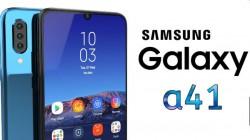 Samsung Galaxy A41 : ಸ್ಯಾಮ್ಸಂಗ್ ಗ್ಯಾಲಕ್ಸಿ A41 ಫೋನ್ನ ಫೀಚರ್ಸ್ ಬಹಿರಂಗ!