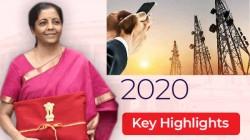 ಕೇಂದ್ರ ಬಜೆಟ್ 2020 ಮುಖ್ಯಾಂಶಗಳು: ತಂತ್ರಜ್ಞಾನ ವಲಯಕ್ಕೆ ಸಿಕ್ಕ ಗಿಫ್ಟ್ ಏನು?